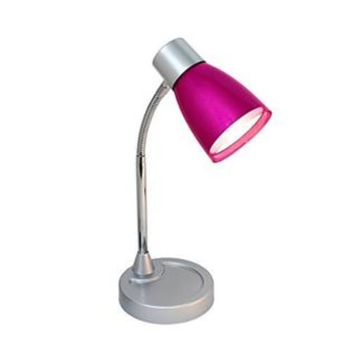 All The Rages LimeLights Flashy Flexible Gooseneck LED Desk Lamp Metallic Pink per EA