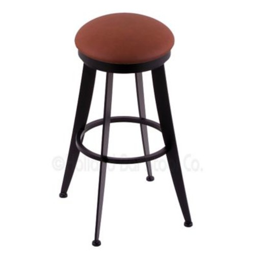 Holland Bar Stool Laser 25'' Swivel Bar Stool; Rein Adobe