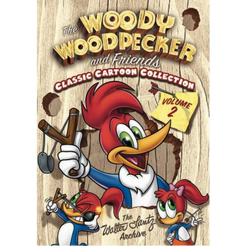 The Woody Woodpecker and Friends Classic Collection, Vol. 2 [3 Discs] [DVD]