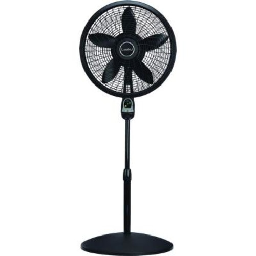 Lasko Adjustable-Height 18 in. Oscillating Pedestal Fan with Remote Control