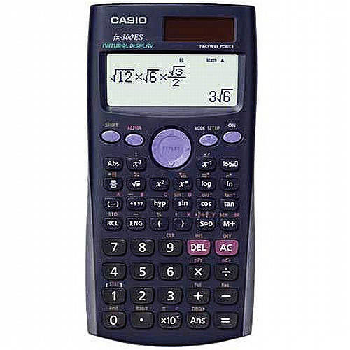 Casio fx-300ES PLUS Scientific Calculator, Black [Black, fx-300ES PLUS]