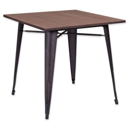 Zuo Titus Rustic Wood Dining Table