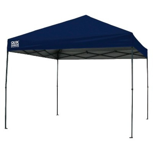 Quik Shade Weekender Elite WE100 10x10 Instant Canopy - Navy Blue