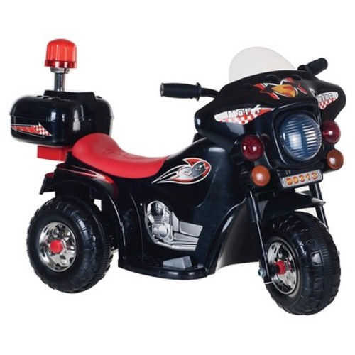 Lil' Rider SuperSport Three Wheeled Motorcycle Ride-on - Black