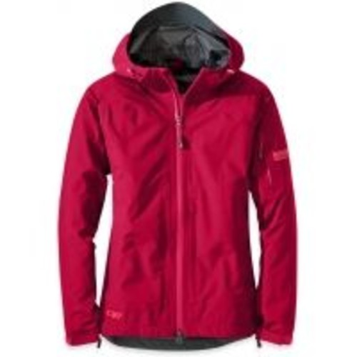 Outdoor Research Aspire Jacket - Womens, Jacket Style: Everyday Rain Shell w/ Free Shipping [Chest/Body Size : 32 in; Womens Clothing Size : Extra Small]