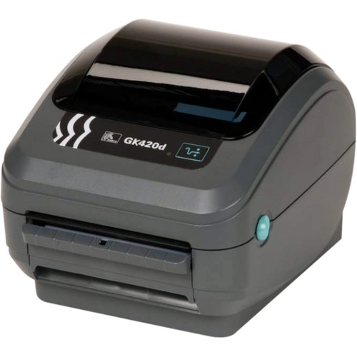 Zebra GK420d Direct Thermal Printer - Monochrome - Desktop - Label Print - 4.09