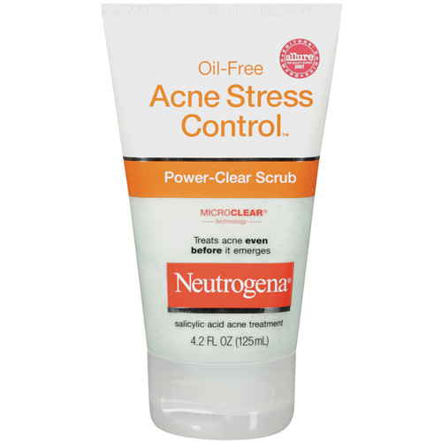 Neutrogena Power-Clear Scrub, Acne Stress Control, 4.2 fl oz (125 ml)