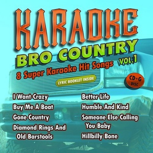 Karaoke Cloud - Bro Country Vol 1 (CD)