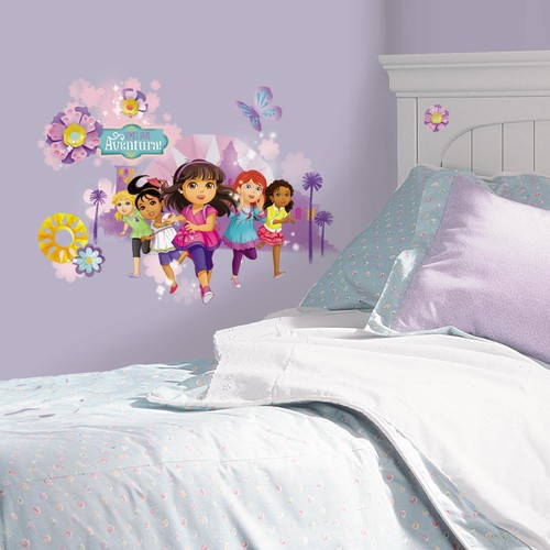Dora and Friends Peel and Stick Wall Graphix
