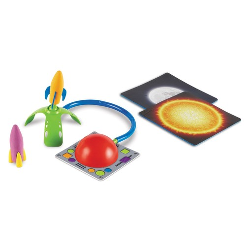 Learning Resources Primary Science Leap & Launch Rocket Set - 5-Piece