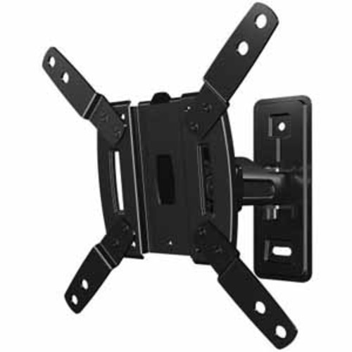 SANUS Decora Full-Motion TV Mount for 13 - 32 Flat-Panel TVs - Black