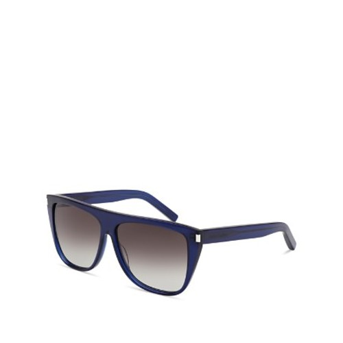 SAINT LAURENT Flat Top Sunglasses, 59Mm