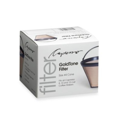 GoldTone Filter for Capresso Coffee Makers