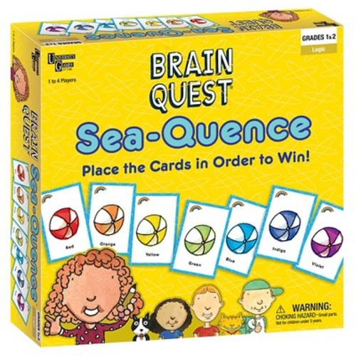 University Games Brain Quest Sea-Quence Card Game