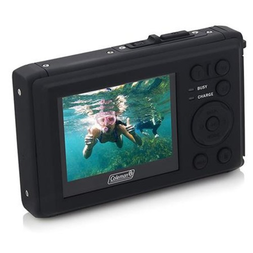 Coleman C40WP 20MP VentureHD Underwater Digital Camera, Blue