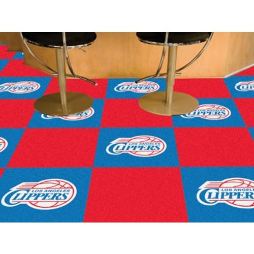Los Angeles Clippers Carpet Tiles