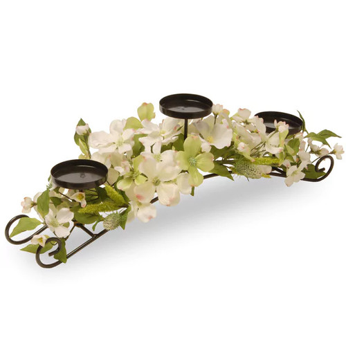 National Tree Company Candles & Candle Holders National Tree Company Dogwood Candleholder