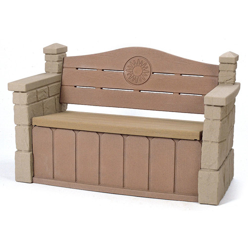 Step2 Naturally Playful Outdoor Storage Bench