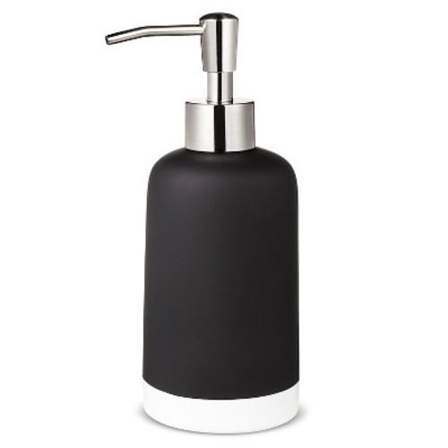 Soap/Lotion Dispenser - Black - Room Essentials