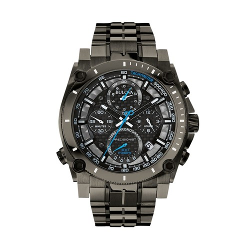 Bulova Men's Precisionist Stainless Steel Chronograph Watch - 98B229