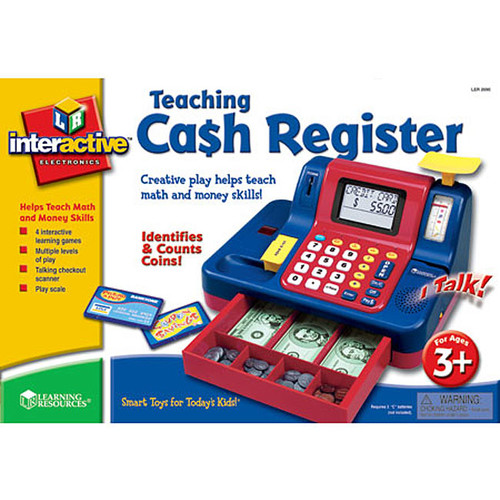 Learning Resources Kids' Electronics Teaching Cash Register