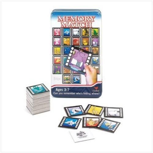 MEMORY MATCH - GAME (Animals)