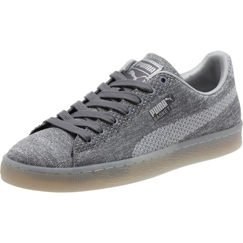 Basket Knit Metallic Men's Sneakers