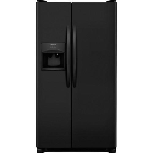 Frigidaire 25.5 cu. ft. Side by Side Refrigerator in Black