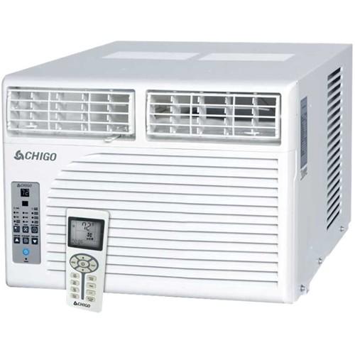 CHIGO - 12,600 BTU Window Air Conditioner - White