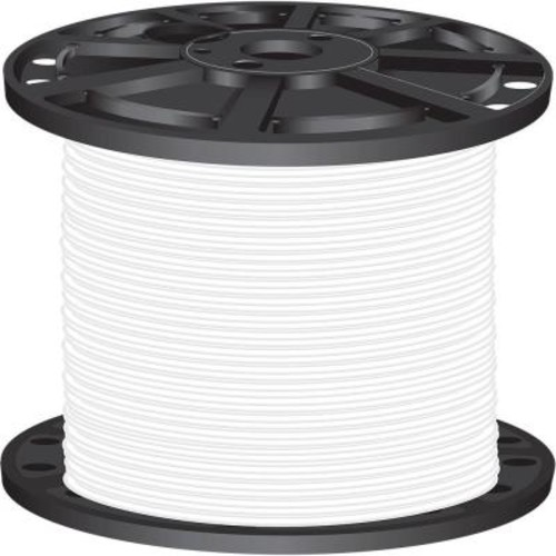 Southwire 2,500 ft. 6 White Stranded CU SIMpull THHN Wire