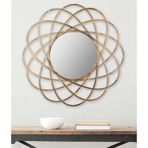 Safavieh Galaxy Antique Gold 32-inch Mirror