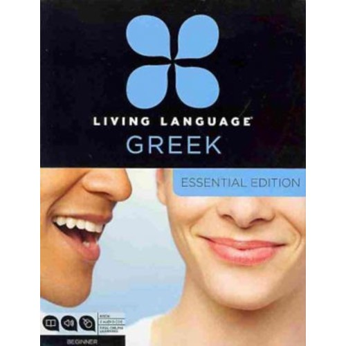Living Language Greek, Essential Edition Beginner course, including coursebook, 3 audio CDs