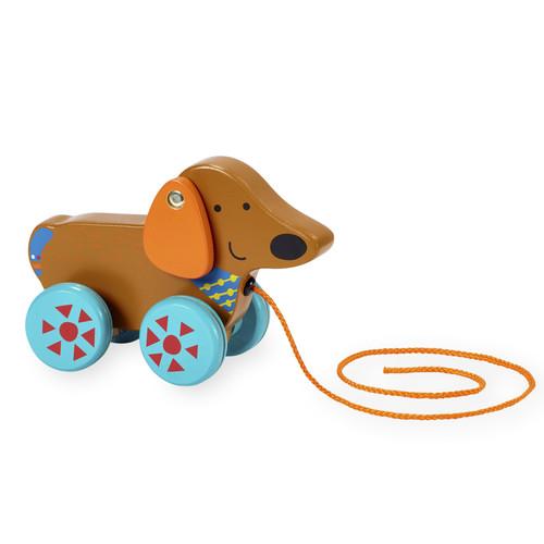 Imaginarium Wooden Puppy Pull Toy