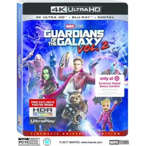 Guardians Of The Galaxy: Volume 2 Target Exclusive (4K/UHD + Blu-ray + Digital)