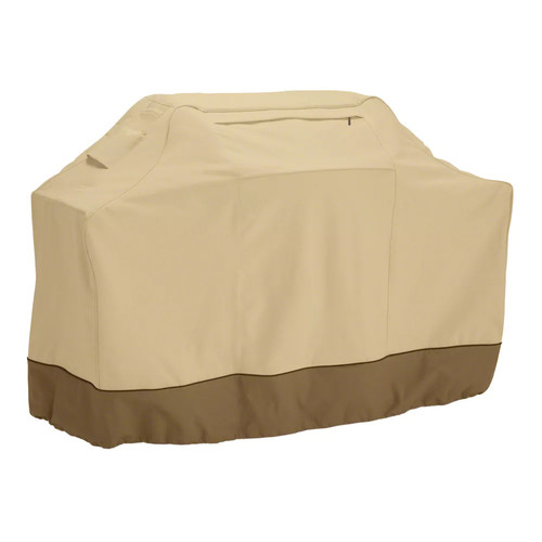 Classic Accessories 73912 Veranda Grill Cover - Durable BBQ Cover with Heavy-Duty Weather Resistant Fabric, Medium, 58-Inch [Medium]