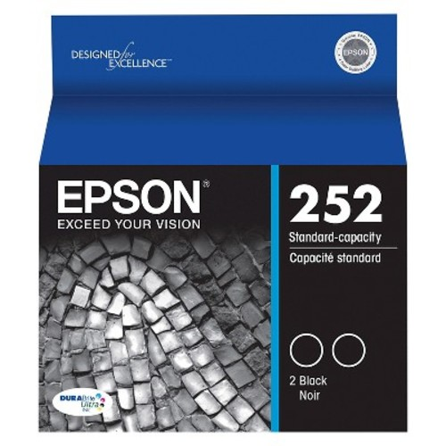 Epson DURABrite Ultra Ink T252 Ink Cartridge - Black