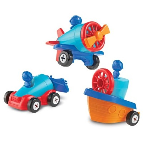 Learning Resources 1-2-3 Build It Car-Pl...