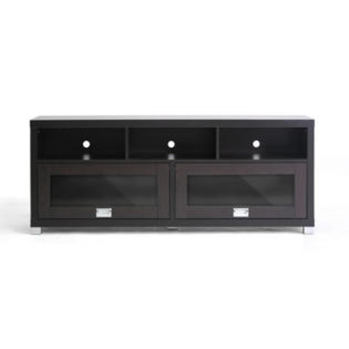 Wholesale Interiors Swindon Modern TV Stand with Glass doors