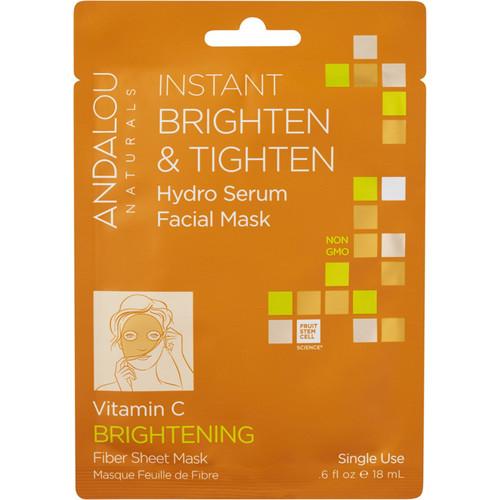 Instant Brighten & Tighten Hydro Serum Facial Mask