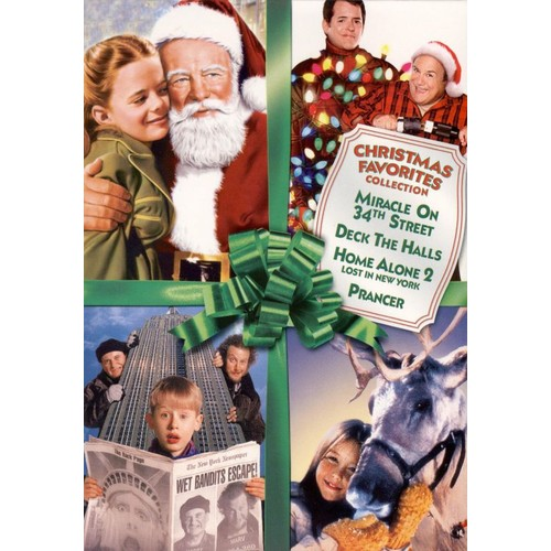 Christmas Favorites Collection [4 Discs] [DVD]
