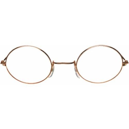 Gold Clear Glasses John Adult Halloween Accessory