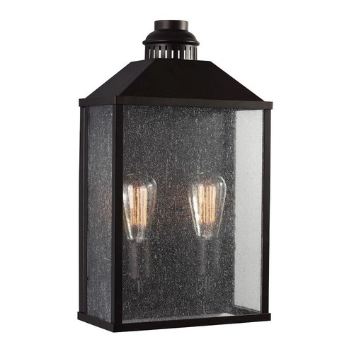 Feiss Lumiere' 2-Light Oil-Rubbed Bronze Outdoor Sconce
