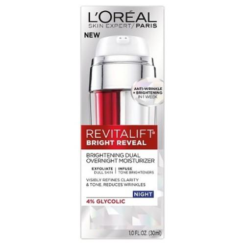 RevitaLift Bright Reveal Brightening Dual Overnight Moisturizer