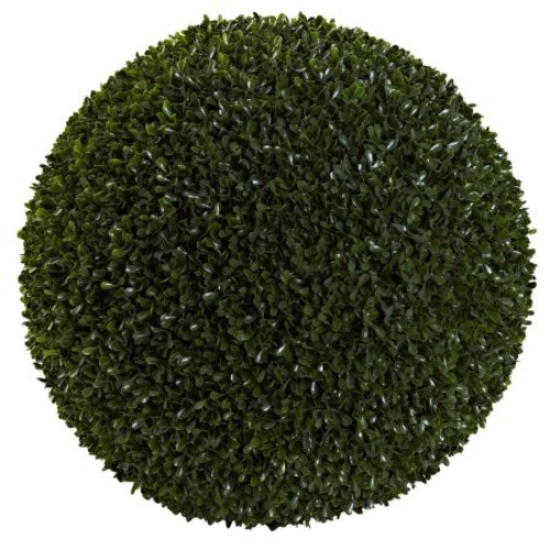 Nearly Natural 19 in. Boxwood Ball