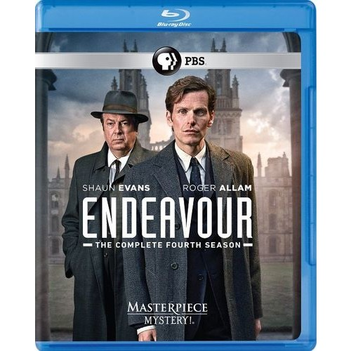 Endeavour: The Complete Season Four [UK-Length Edition] [Blu-ray] [2 Discs]