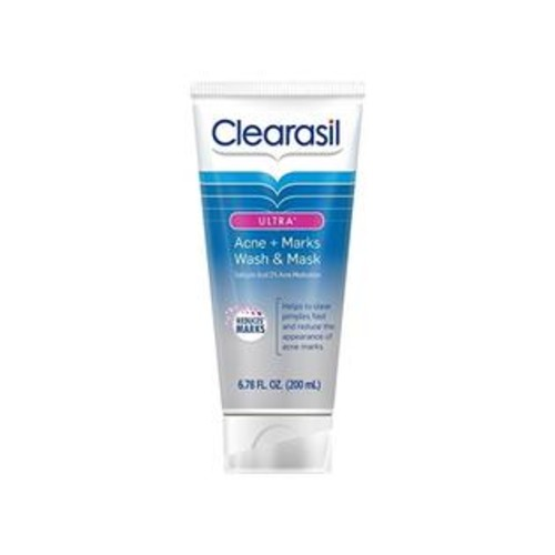 Clearasil Ultra Acne Marks Wash and Mask, 6.78 oz.