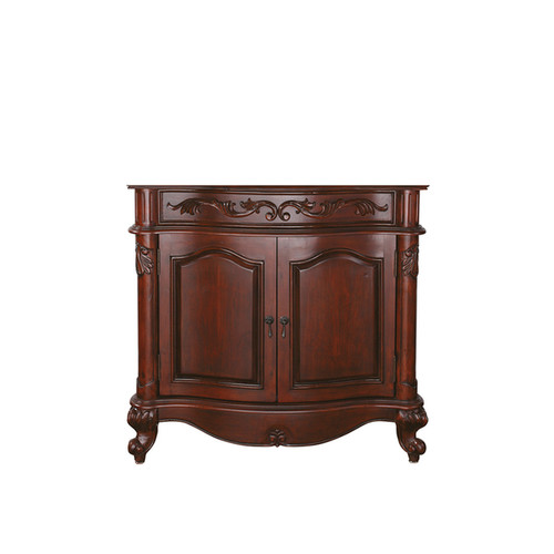 Avanity Provence 36-inch Antique Cherry Finish Vanity Only
