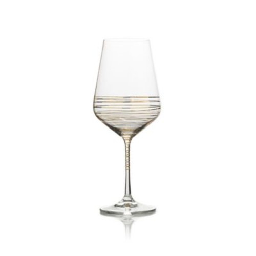 Mikasa Electric Boulevard Goblets in Gold (Set of 4)
