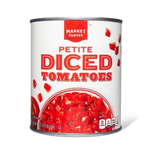 Petite Diced Tomatoes 28 oz - Market Pantry