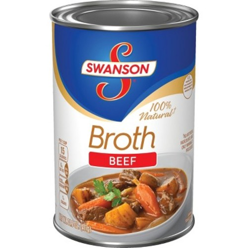 Swanson 100% Natural Beef Broth 14.5 oz